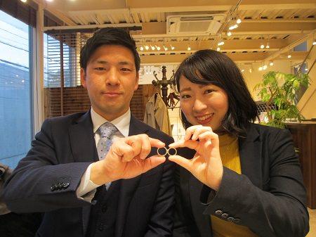 19042701木目金の婚約指輪と結婚指輪_M001.JPG