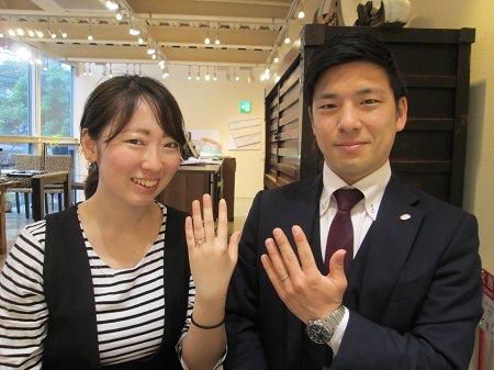 19042701木目金の婚約指輪と結婚指輪_M003.JPG