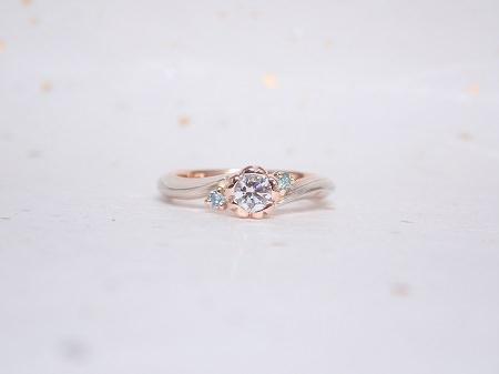 19042701木目金の婚約指輪・結婚指輪_B001.JPG