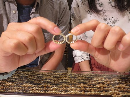 19060102木目金の結婚指輪_OM001.JPG