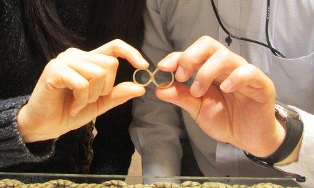 190602001木目金の婚約指輪と結婚指輪_M001.JPG