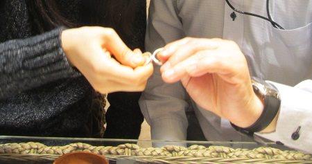 190602001木目金の婚約指輪と結婚指輪_M002.JPG