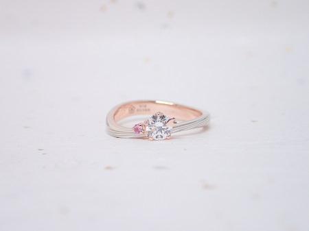 190602001木目金の婚約指輪と結婚指輪_M004.JPG