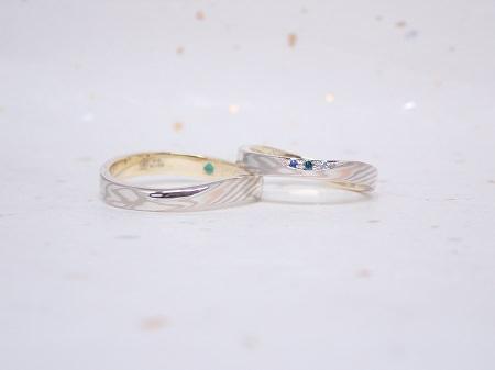 190602001木目金の婚約指輪と結婚指輪_M005.JPG