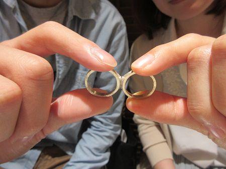 19060601木目金の婚約指輪・結婚指輪N_001.JPG