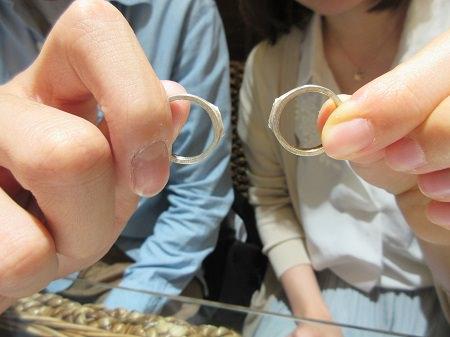 19060601木目金の婚約指輪・結婚指輪N_002.JPG