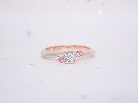 19060806木目金の結婚指輪と婚約指輪J_003.JPG