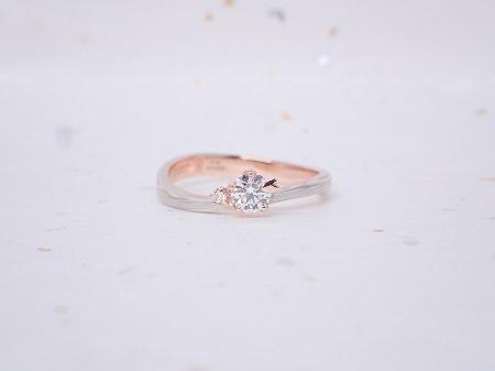 19061001木目金の婚約指輪と結婚指輪_004①.JPG