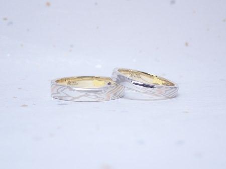 19062302木目金の結婚指輪_Y004①.JPG