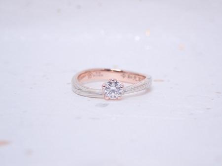 190630木目金の婚約指輪と結婚指輪_M004.JPG