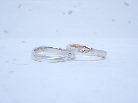 190630木目金の婚約指輪と結婚指輪_M005.JPG