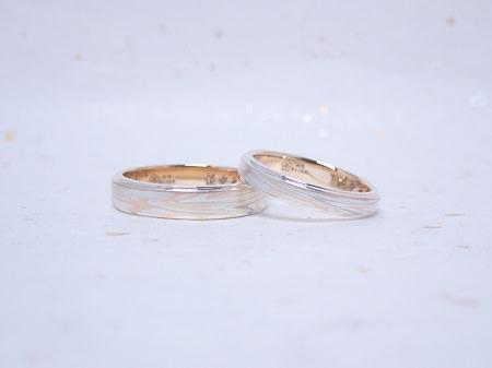 19071001木目金の結婚指輪ーJ004.JPG