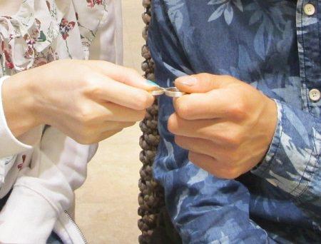 19071501木目金の婚約指輪と結婚指輪_M002.JPG