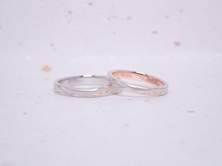 19072801木目金の婚約指輪・結婚指輪_OM005.JPG