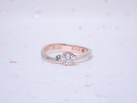 19080201木目金の婚約指輪A_001.JPG