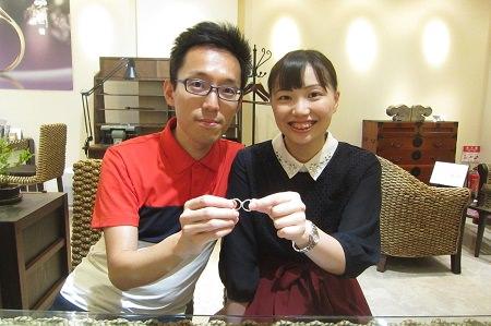 19082501木目金の婚約・結婚指輪(1).JPG