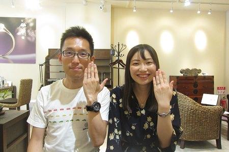 19082501木目金の婚約・結婚指輪(3).JPG