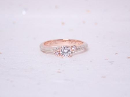 19082501木目金の婚約指輪と結婚指輪_M003.JPG