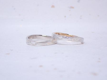 19090801木目金の婚約指輪・結婚指輪_Y004.JPG