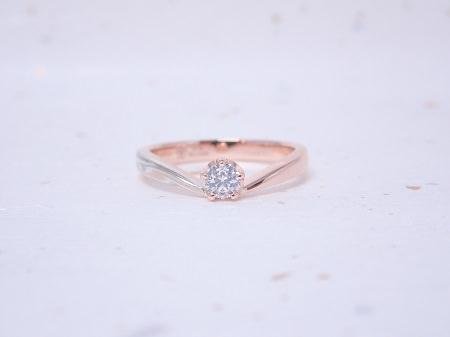 19091601木目金の婚約指輪と結婚指輪_R004①.JPG