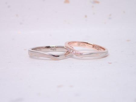19091601木目金の婚約指輪と結婚指輪_R004②.JPG