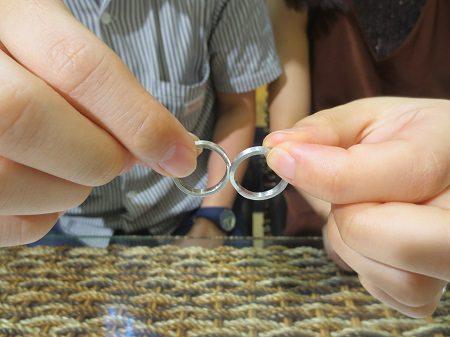 19092102木目金の結婚指輪_H001.JPG