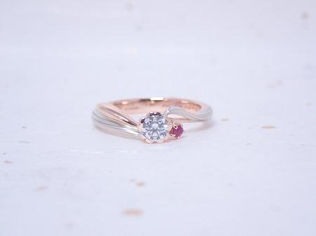 19092301木目金の婚約指輪_Y001.JPG