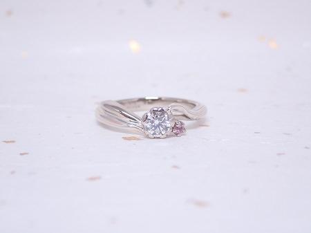 19101401木目金の結婚指輪_M004①.JPG