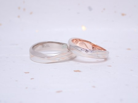 19101401木目金の結婚指輪_M004②.JPG