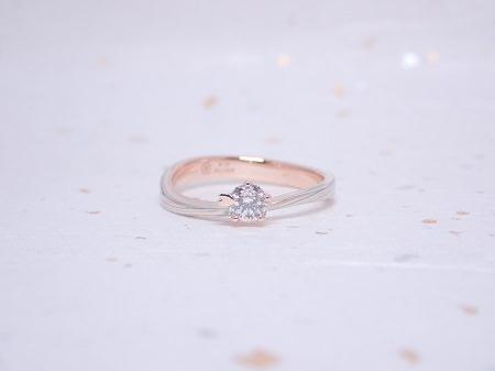 19110301木目金の婚約指輪と結婚指輪_A004①.JPG