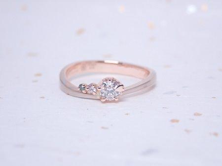 19110401木目金の婚約・結婚指輪_F00①.JPG