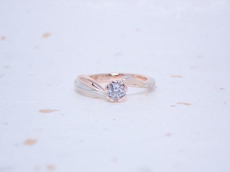 19111501木目金の婚約指輪と結婚指輪_Q003.JPG