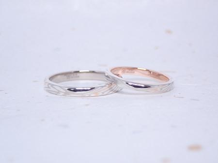 19111501木目金の婚約指輪と結婚指輪_Q004.JPG