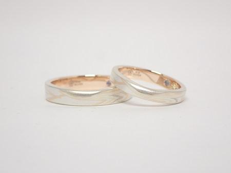 20011902木目金の結婚指輪_M004②.JPG