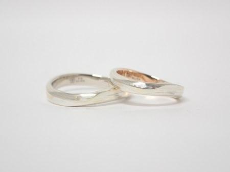 20022101木目金の結婚指輪_R003②.JPG