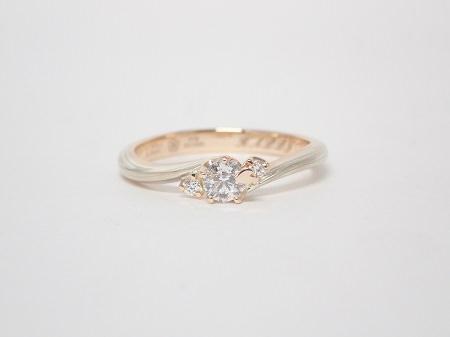 20031501木目金の婚約指輪と結婚指輪_R004②.JPG