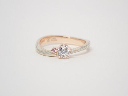 20032801木目金の婚約指輪・結婚指輪_B003.JPG