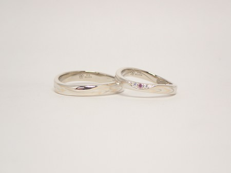 20052401木目金の婚約指輪と結婚指輪_A004.JPG