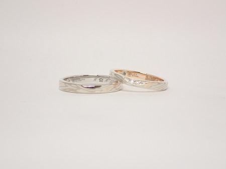 20060802木目金の婚約結婚指輪_Q004.JPG
