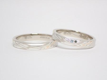 20071101木目金の婚約指輪と結婚指輪D_005.JPG