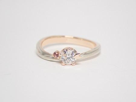 20071103木目金の婚約指輪・結婚指輪_B003.JPG