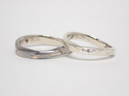 20071103木目金の婚約指輪・結婚指輪_B004.JPG