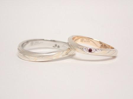 20071802木目金の結婚指輪_G004②.JPG