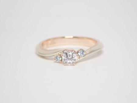 20082902木目金の婚約指輪と結婚指輪_A001.JPG