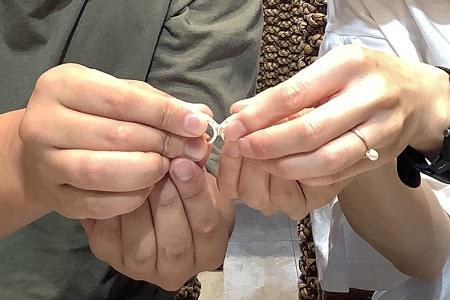 20091901木目金の結婚指輪_K002.JPG