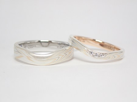 20092801木目金の婚約・結婚指輪M_005.JPG
