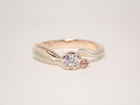 20101103木目金の婚約指輪・結婚指輪_OM002.JPG