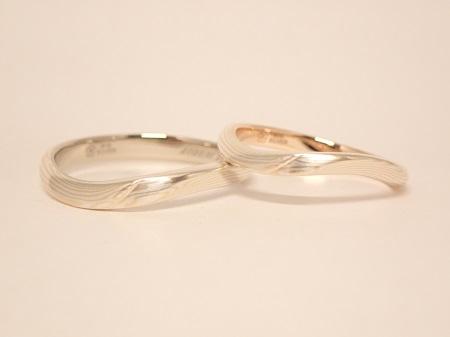 20101103木目金の婚約指輪・結婚指輪_OM003.JPG