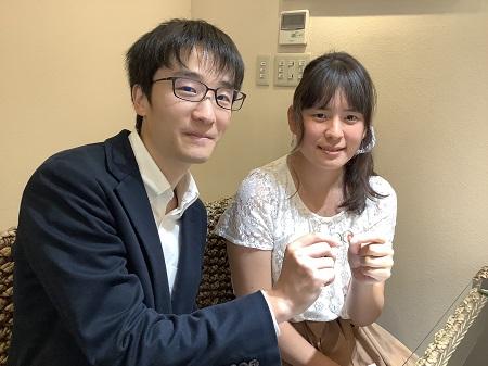 20102503木目金の婚約指輪と結婚指輪A_001.JPG