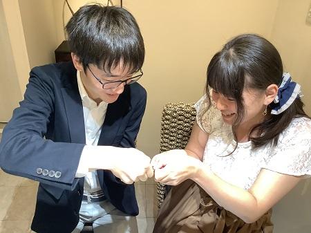 20102503木目金の婚約指輪と結婚指輪A_002.JPG